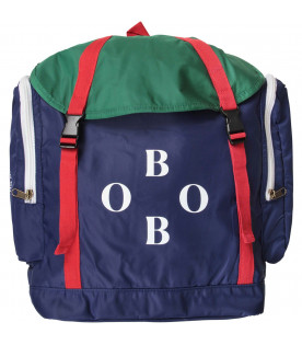 BOBO CHOSES Colorblock kids explorer backpack
