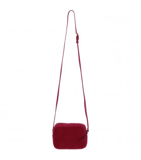 BONPOINT Purple girl bag with cherry