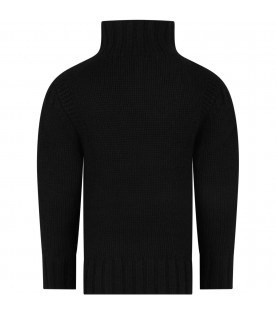 BONPOINT Black girl sweater