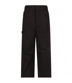 Black kids snow pant