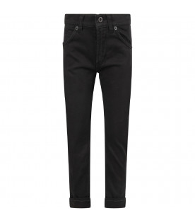 Black ''George'' boy jeans with iconic D