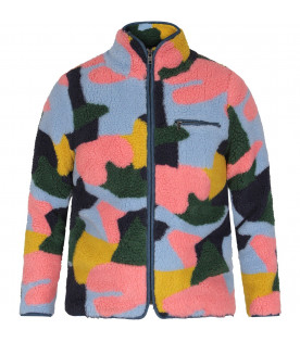 STELLA MCCARTNEY KIDS Color block girl coat