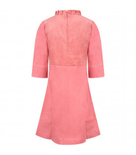 Pink ''Lily'' girl dress