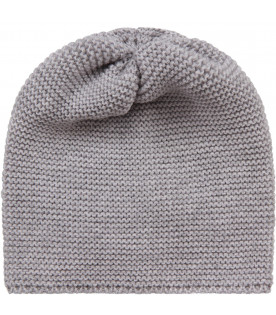 Grey babykids hat