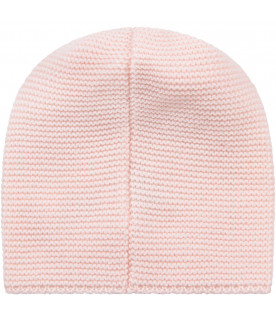 LITTLE BEAR Pink babygirl hat