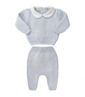 Light blue babyboy suit
