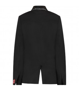 GIVENCHY KIDS Black boy jacket