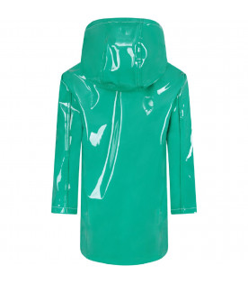 MARNI KIDS Green kids jacket