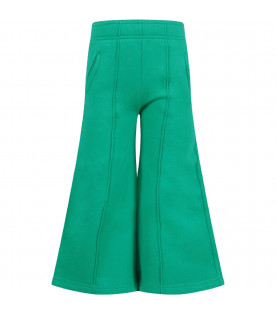 MARNI KIDS Green girl pants