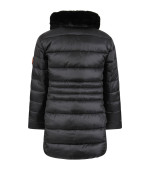 Save The Duck Kids Black girl jacket with iconic logo
