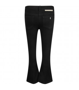 STELLA MCCARTNEY KIDS Jeans nero per bambina