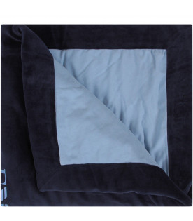 Blue and light blue babyboy blanket
