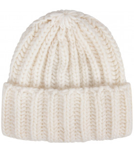 White kids hat