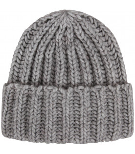 Grey kids hat