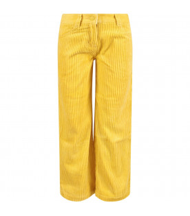 Yellow kids pants