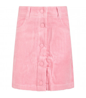 STELLA MCCARTNEY KIDS Pink girl skirt