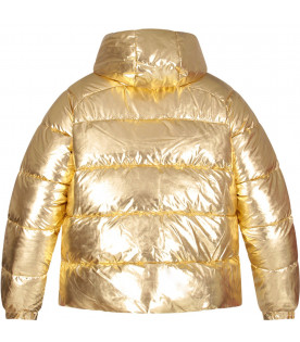 Gold girl jacket