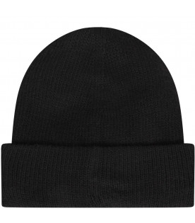 NEIL BARRETT KIDS Black boy hat with white logo