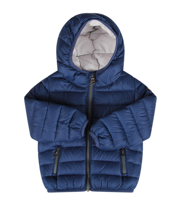COLMAR ORIGINALS KIDS Blue babyboy jacket with iconic patch