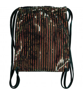 Green girl bag with sequins