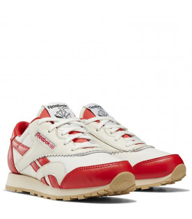 White and red kids Classic Nylon Reebok x Tao