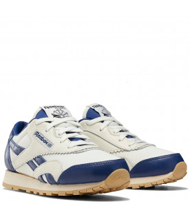 White and blue kids Classic Nylon Reebok x Tao