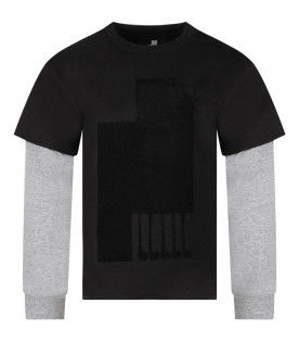 Black boy T-shirt with iconic print