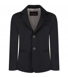 TRUSSARDI JUNIOR Blue boy jacket
