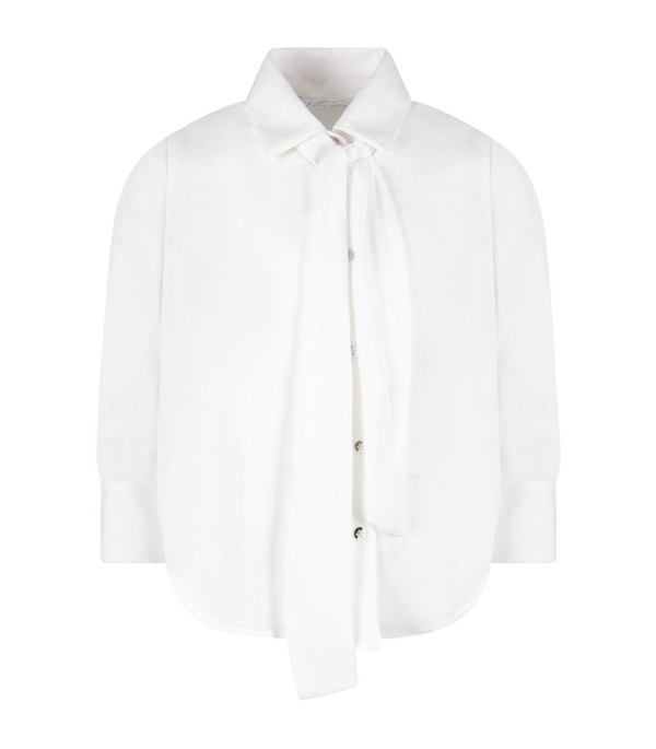 LE GEMELLINE BY FELEPPA White girl ''Musa'' shirt with bow
