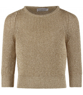 Gold girl ''Gliss'' sweater