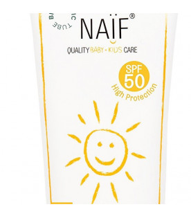 NAIF Kids protecting broad spectrum sunscreen