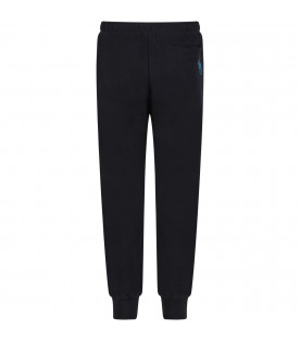 PAUL SMITH JUNIOR Blue boy water resistant pants