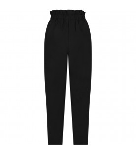 Black pants for woman