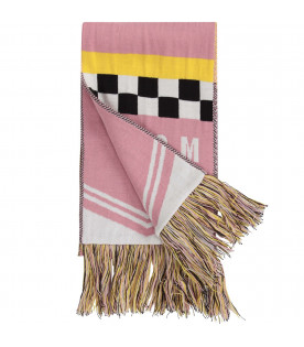 "Pink ""Jamaica"" scarf"