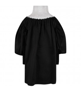 Black ''Challenge'' girl dress