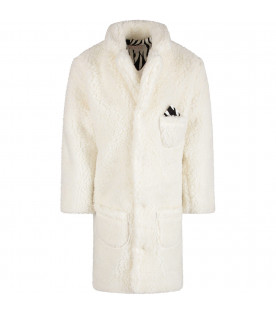 White girl coat