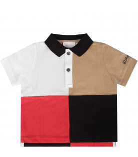 Colorful baby polo shirt
