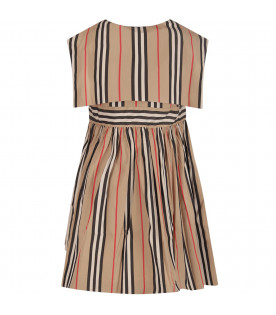 Striped girl dress