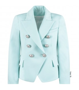 Light blue girl jacket