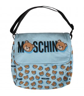 Light blue babyboy changing bag with Teddy Bears