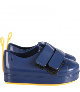 Blue boy shoes