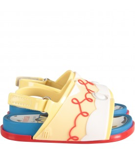 Multicolor boy sandals