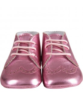 Pink babygirl shoes