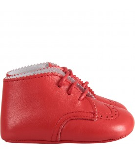 Red babykids shoes