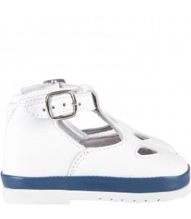 White babykids ox-eye shoes