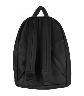 Black backpack with wings for kids
