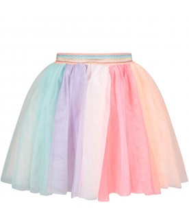 Multicolor girl skirt
