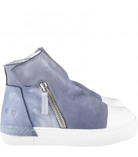 Light blue girl boot