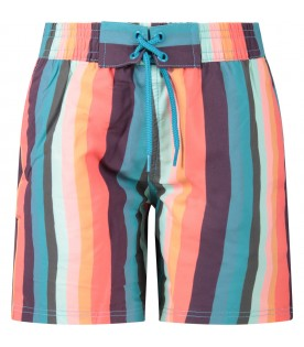 Multicolor swim for boy