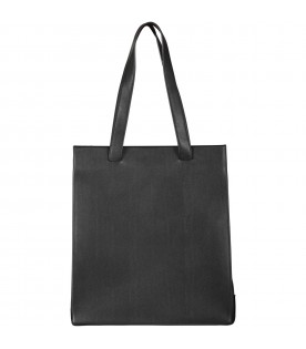 Black girl bag with logo